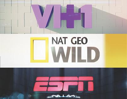 Network Brand Logo Reveals