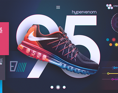 Nike Futuristic UI Concept (Free Download)