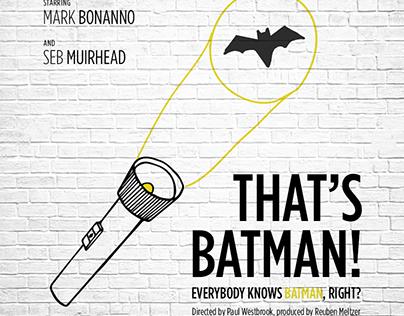 That's Batman Short Film