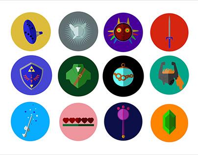 Legend of Zelda-Icon Set Project