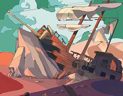 Traveler's wreckage