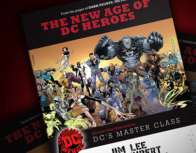 The New Age of DC Heroes 8-Page Preview