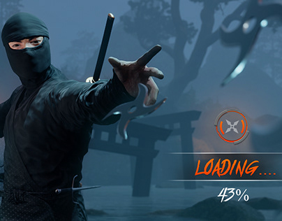 Ninja warrior game ui