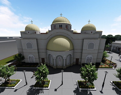 Holy Trinity Church 3D Visualization