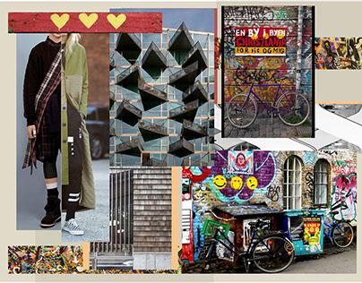 Riding through Christiania, Copenhagen