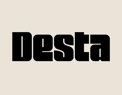 Desta – Font Family