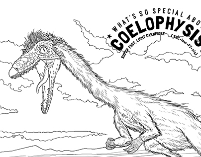 Colouring sheets for www.specialdinosaurs.com