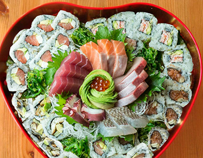 Advertising Design for Sushi Restaurant