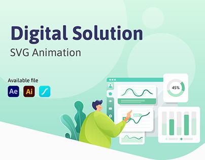 Digital Solution - SVG Animation