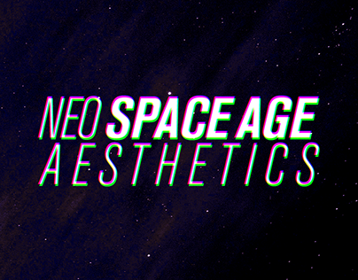 Neo Space Age Aesthetics - Modeling & Rendering