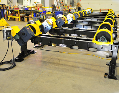 12-Ton Height Adjustable Tank Turning Rolls Redesign