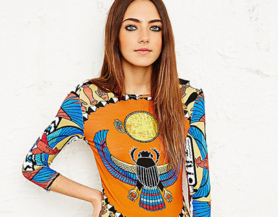 Beyoncé | Urban Outfitters - Egyptian Mystery print