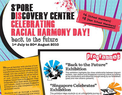 Come Celebrate Racial Harmony Day!