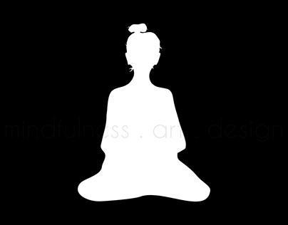 Symbols for mindfulness . art . design