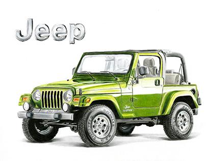 Jeep Illustration