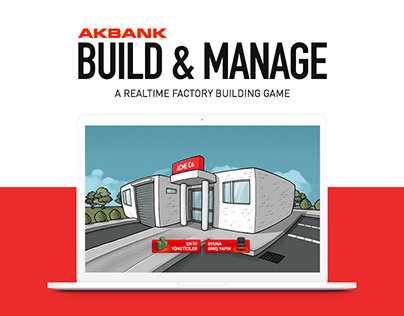 Akbank Kur & Yönet (Build & Manage) / Advergame