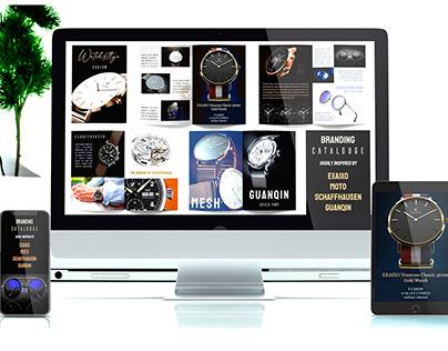 Watchstyle - Branding Catalog