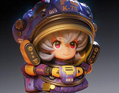 Astronaut Pippi
