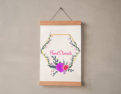 Floral Flower Design Invitation Card