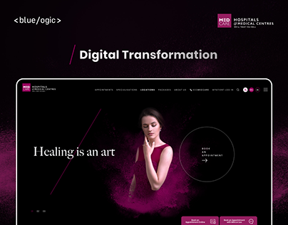 Medcare Website Redesign