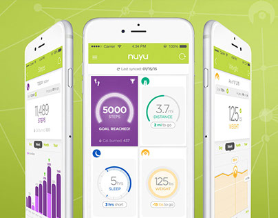 NUYU Activity Tracker iOS App