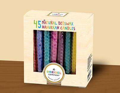 Hanukkah Candles - Package Design