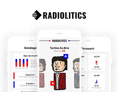 Radiolitics - music app