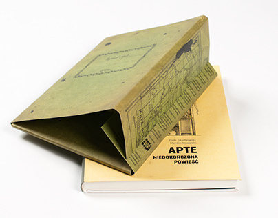 apte (novel + case with original drawings)