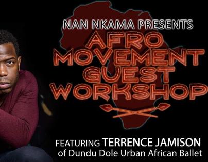 Nan Nkama Dance -AfroMovement Guest Workshop (series)
