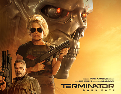 Terminator - Dark Fate | International Poster