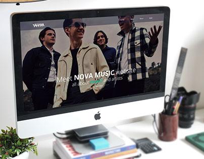 NovaMusic Redesign