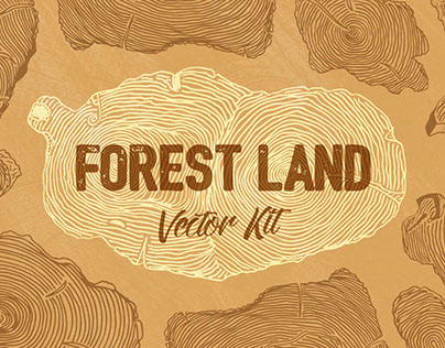 Forest Land Free Vector Kit