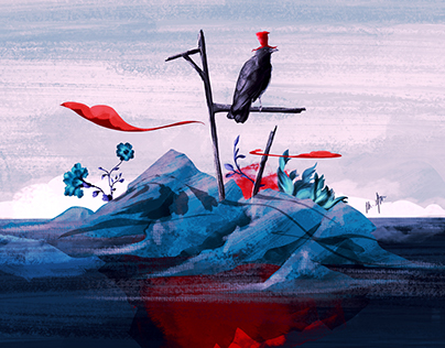 illustrations for On8 Blog - Günışığı Publishing