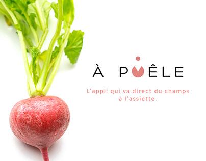 À Poêle - logo & visual identity