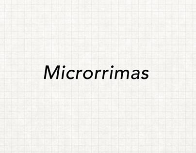 Microrrimas, 2018.