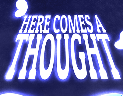Here Comes a Thought / Pôster
