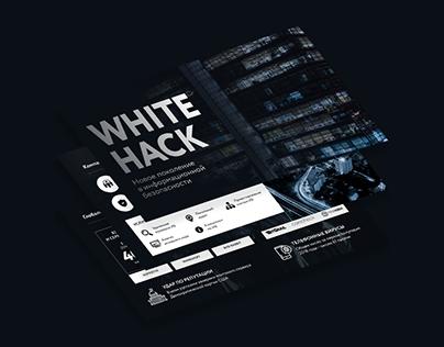 Presentation design for WhiteHack
