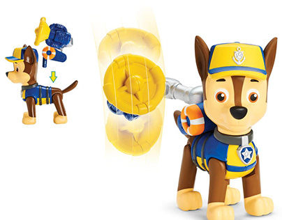Paw Patrol - Lifeguard Action Pack Pups