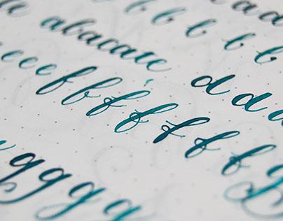 Calligraphy practice II