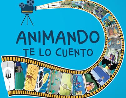 Animando te lo cuento Diseño portada y Autoría DVD