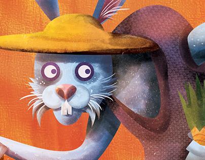 Rabbit Ears - 5/3/16 SOFARSOUNDS Poster