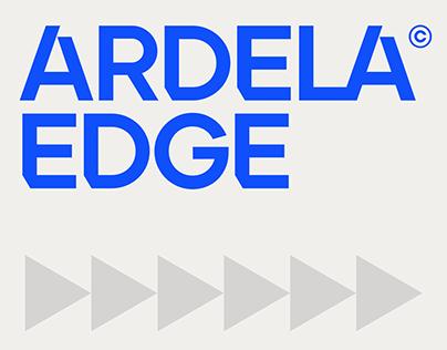 Ardela Edge™ Custom Type Family (Free Weight)