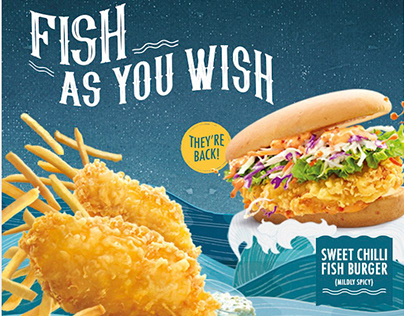 McDonalds Fish as you wish