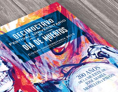 18º Festival de Día de Muertos Mega ofrenda UNAM