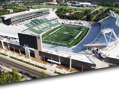 CSU STADIUM ENVIRONMENTAL GRAPHICS