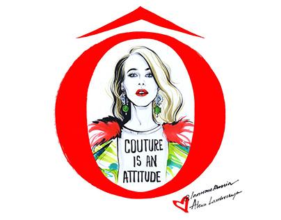Lancome x Alena Lavdovskaya:'La vie est belle' campaign