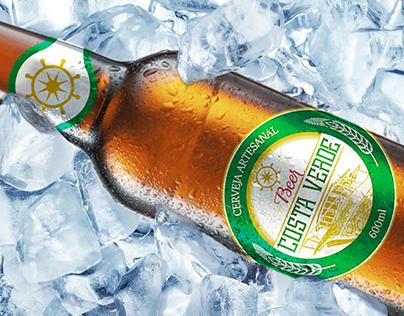 Beer Costa Verde - Label