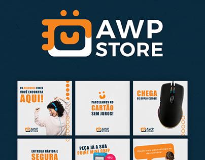 AWP STORE, Design para Social Media