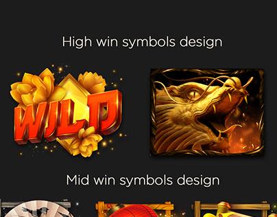 GSN games slot design