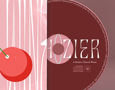 «Cherry Wine» | Alternative Single Cover & Packaging
